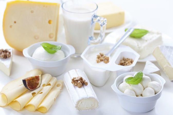 dairy's and cheeses